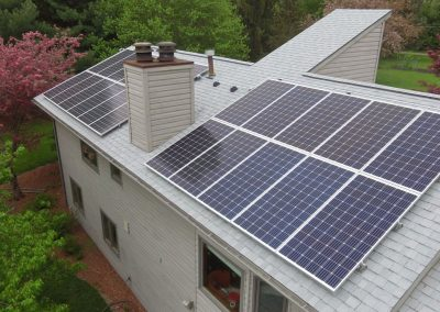 Roof Mounted Solar Power