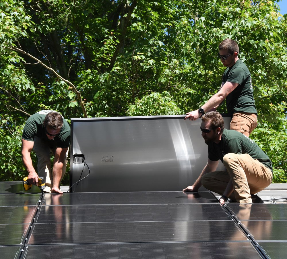 Solar Panel Installation by Absolute Environmental Solutions